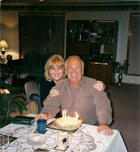 Lynn & Tony Beyak celebrating Tony's Birthday Mar 31, 2002.  Tony passed away 8 days later.