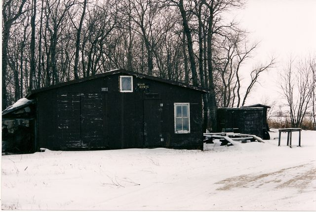 Garage by the lake : when we moved here to Lake of the Woods