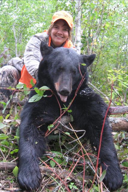 Women & Couples come hunting for Black Bear too
