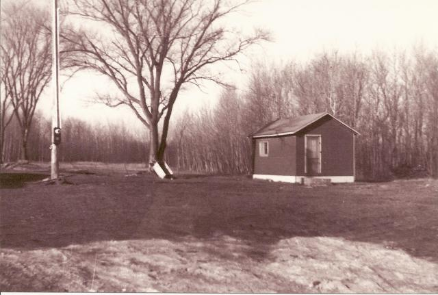 Cabin 5 used to be Cabin 1 - This is what it looked like when Conrad's purchased the property.