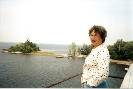 One of HHR's Visitor's View from the top of Tomahawk Lighthouse, Morson Ontario Canada