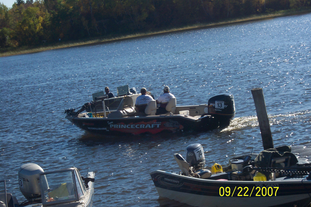 Fishing Tournaments are a great sport enjoyed by many fishermen that come from far and near.: Rainy River Walleye Tournament is only 8 miles by Lake from Harris Hill Resort.