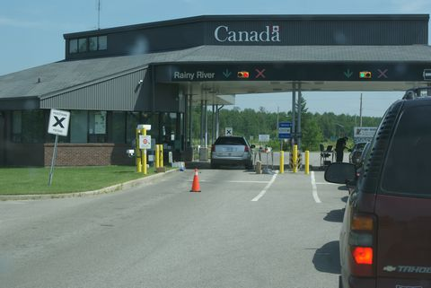 Ontario Resort Location Driving Directions Maps Harris Hill Resort - Us canada border crossings map