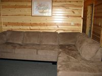 Lakeview Cabin 3: Front room