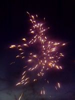 Fireworks at HHR Annual July Celebrations