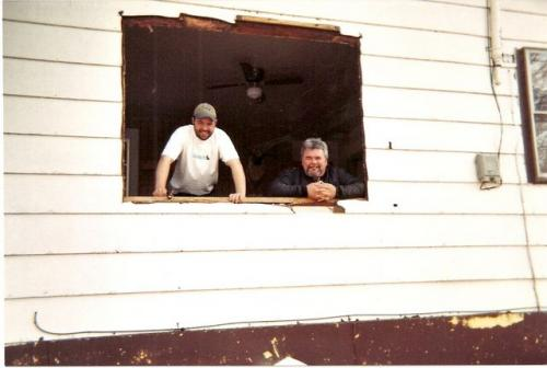 Trevor H installed new windows in cabins