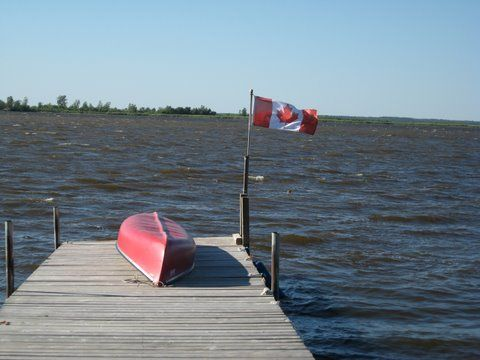 Canoe use is free with cabin reatals, based on availability